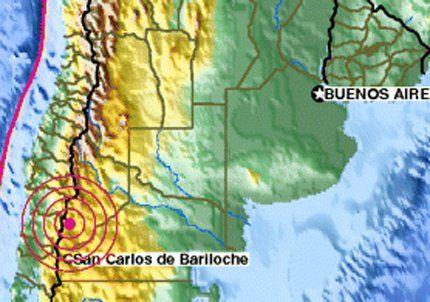Un temblor de 5,3 grados en la escala de Richter sacudió Neuquén
