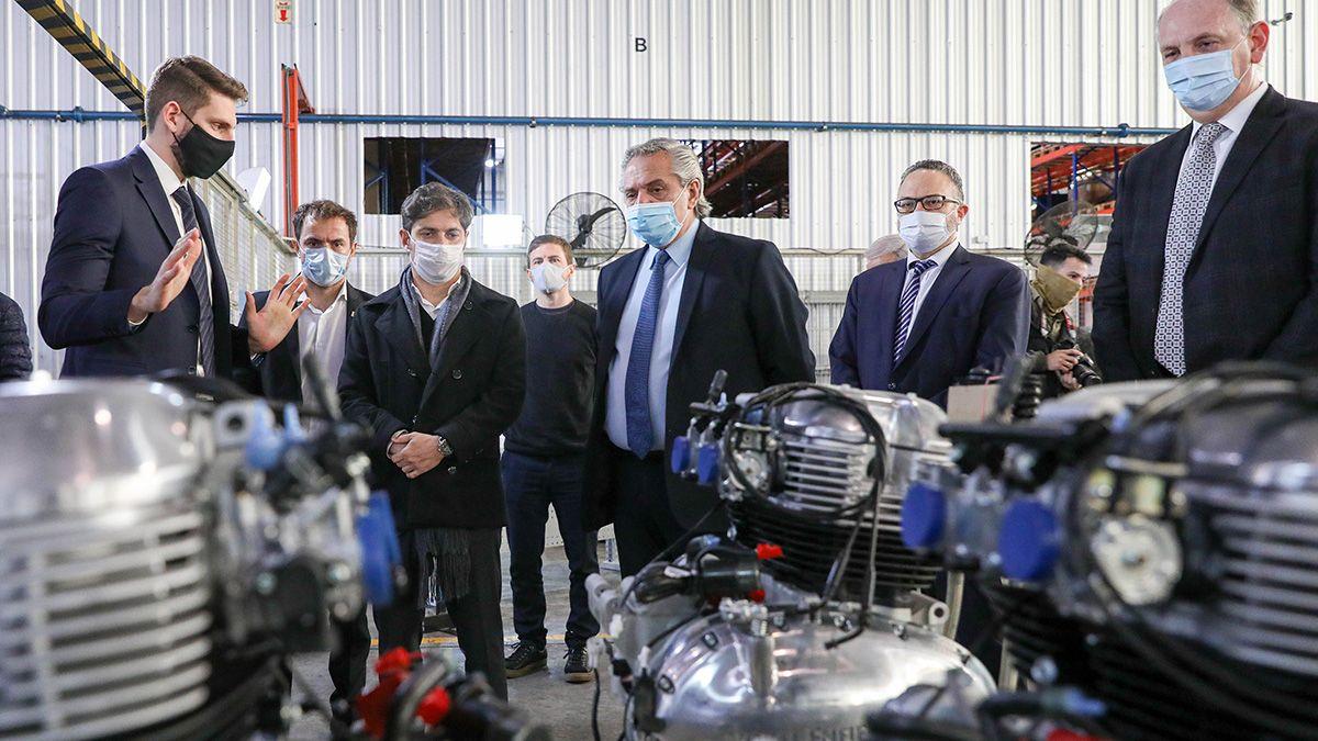 El presidente anunció el plan motos 2020 con créditos para motos.
