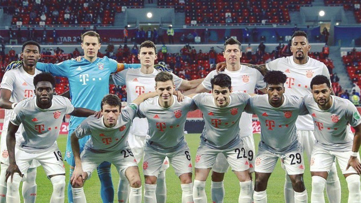 Bayern se instaló en la final de la mano de Robert Lewandowski