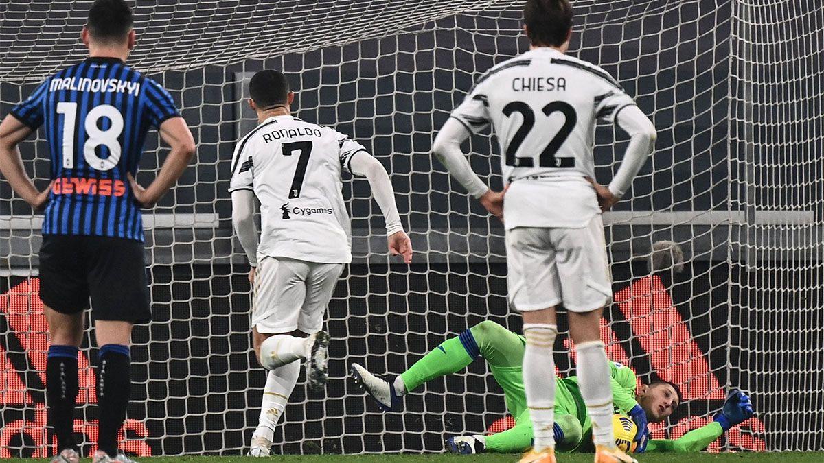 Juventus empató y a Cristiano Ronaldo le atajaron un penal
