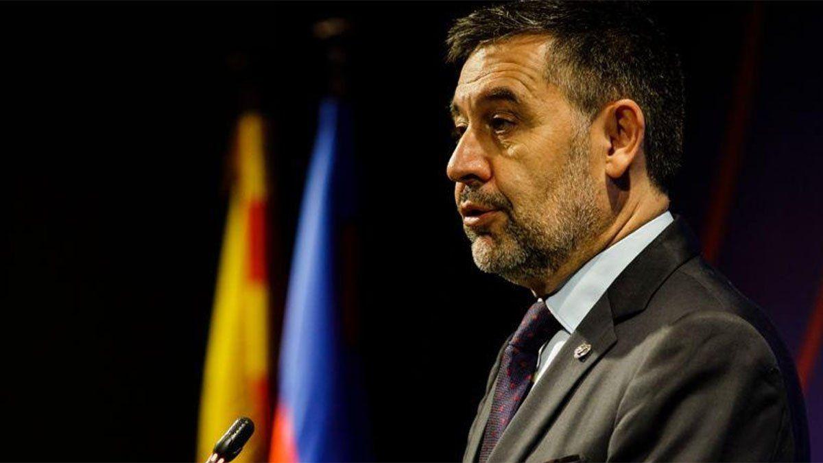 Josep Bartomeu renunció como presidente de Barcelona