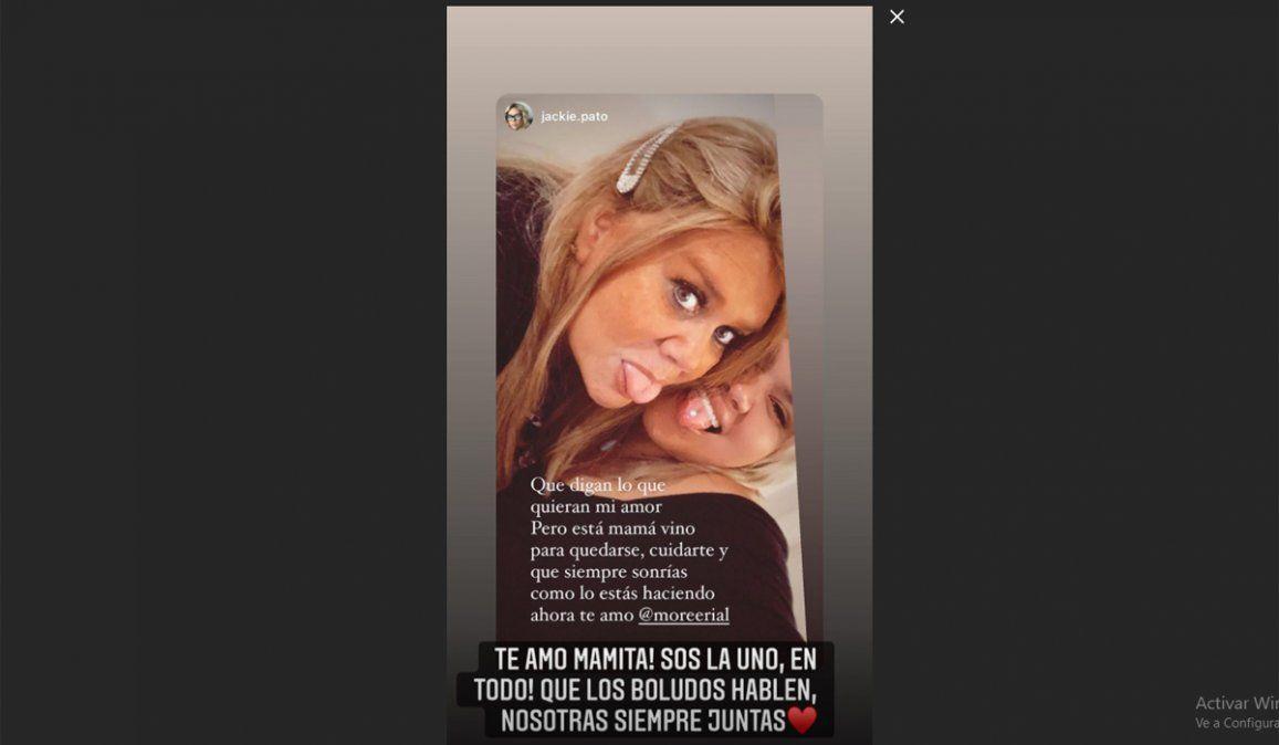 Morena Rial se juntó con su mamá en plena pelea con Jorge