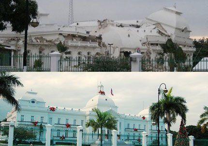 Un potente sismo en Haití derrumbó hasta el palacio presidencial