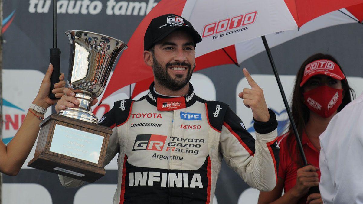 Julián Santero ganó de punta a punta en Bahía Blanca