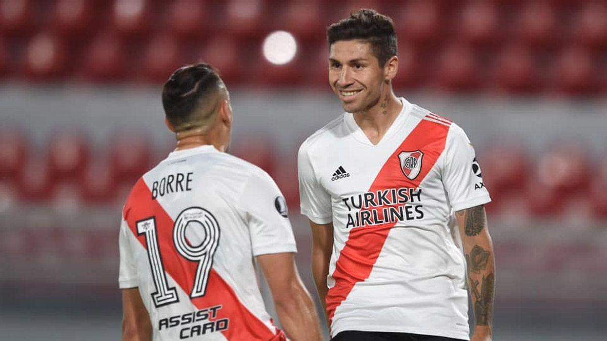 River, sin sorpresas para enfrentar a Palmeiras