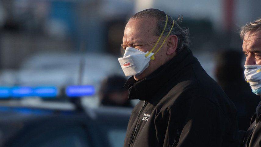 Sergio Berni se contagió coronavirus