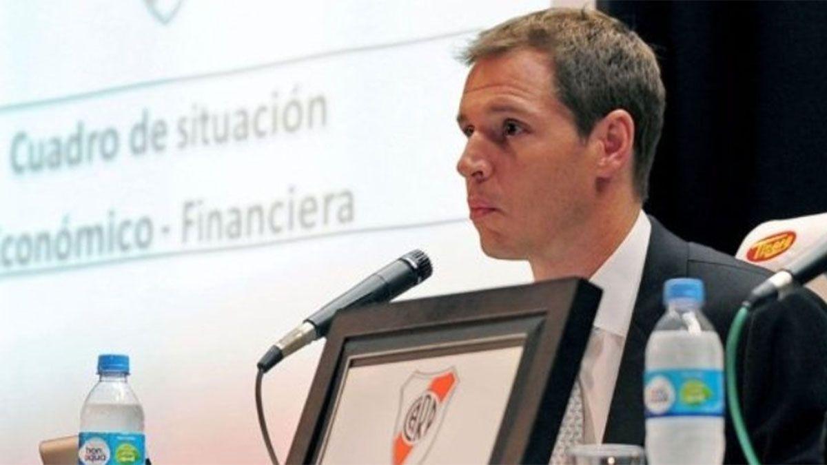 Jorge Brito será el candidato a presidente de River por el oficialismo.