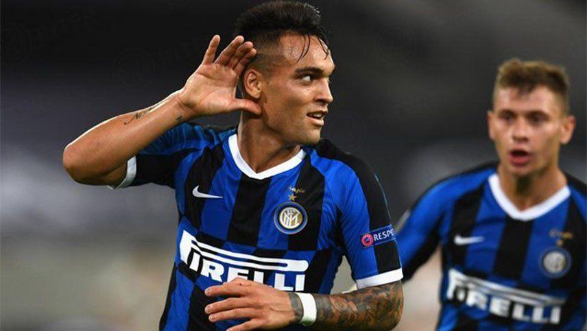 Inter, con un doblete de Lautaro Martínez, goleó y se metió en la final de la Europa League