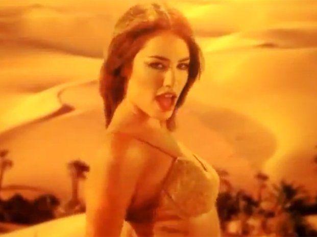 Lali Espósito mostró su sensualidad bailando como Shakira