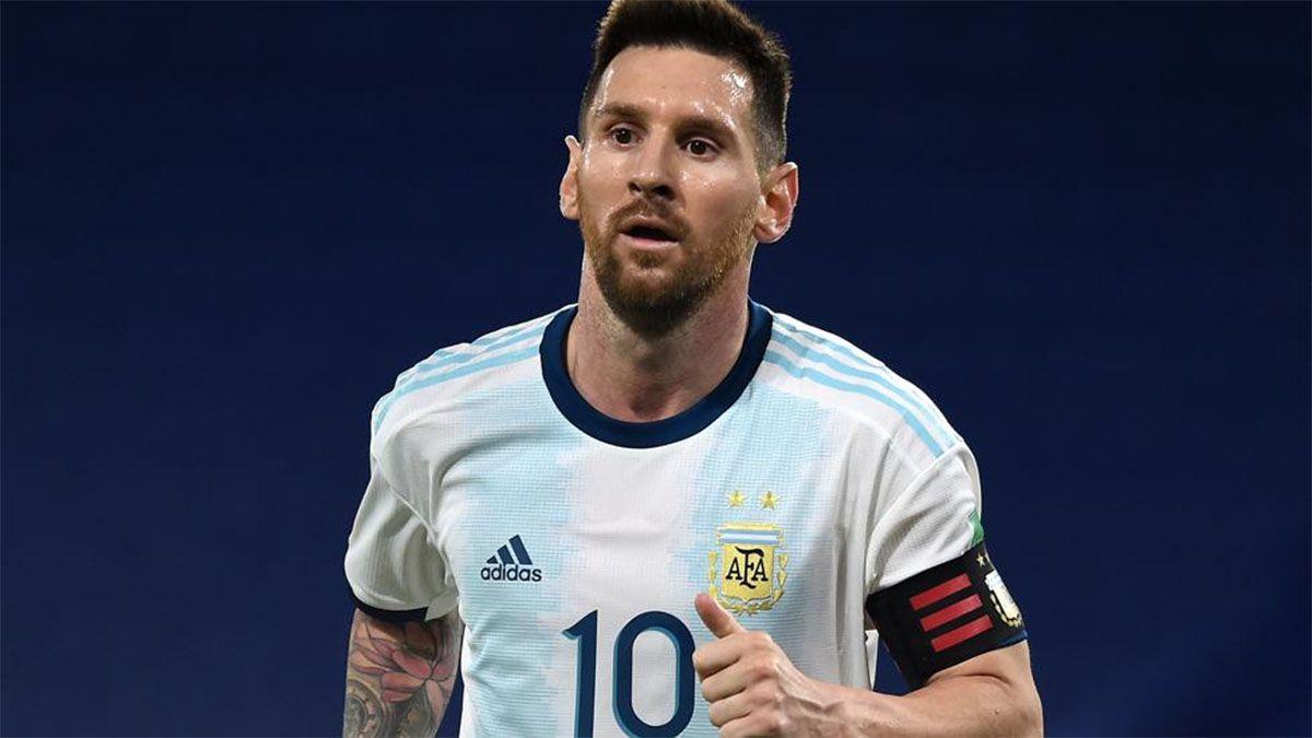 Messi comenzó sus vacaciones antes de la Copa América