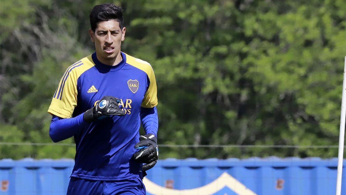 En Boca, Esteban Andrada podría volver el viernes ante Lanús