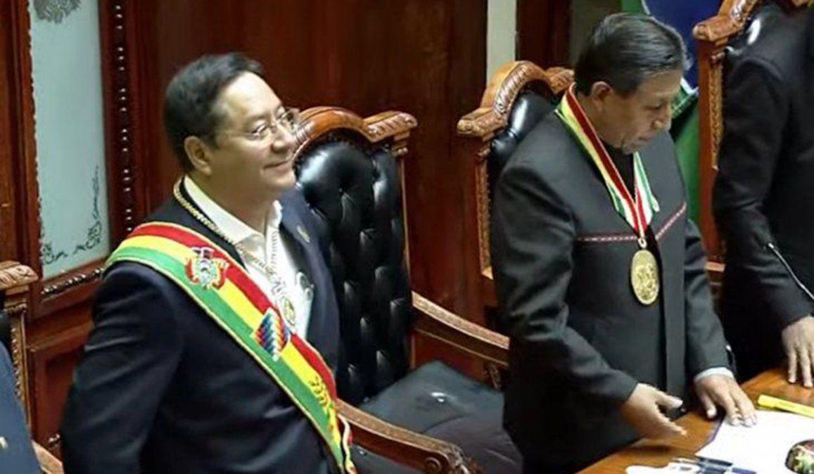 El economista Luis Arce asumió como presidente de la República de Bolivia