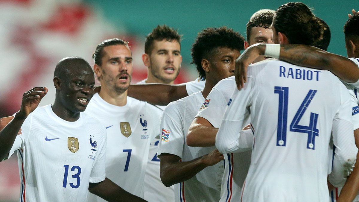 Francia le ganó con lo justo a Portugal.