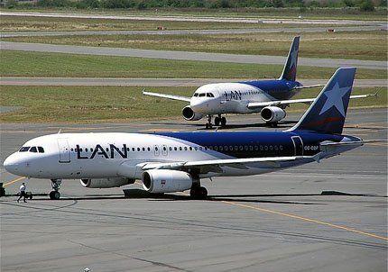 Un avión de LAN salió de Mendoza y aterrizó de emergencia en Ezeiza