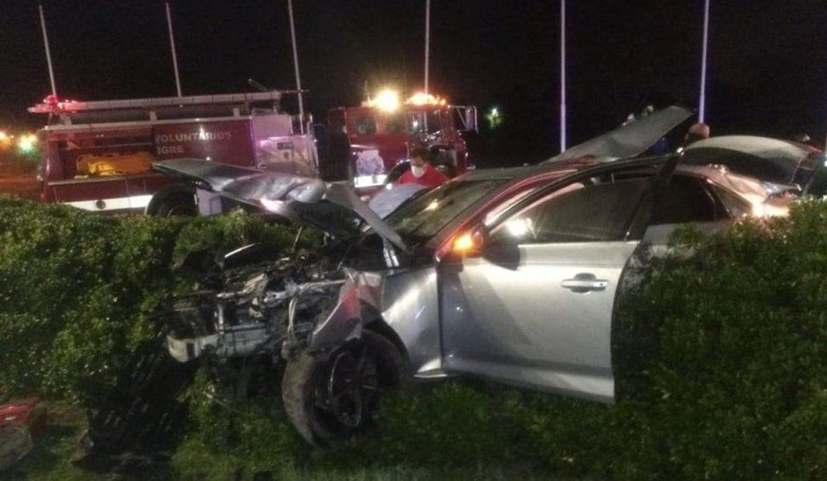 Video: manejaba borracho su Audi, se estrelló y mató a dos amigos