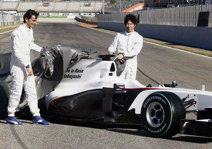 F1: Sauber presentó su monoplaza