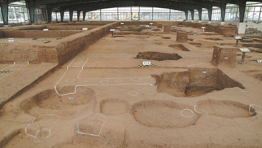 Ruinas de una civilización aún más antigua