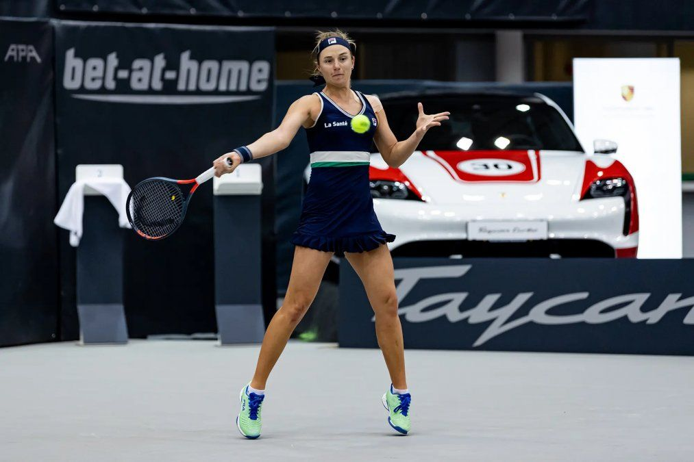 Nadia Podoroska ya está entre las ocho mejores en Linz.