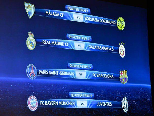 El Barcelona chocará con el PSG en los cuartos de la Champions