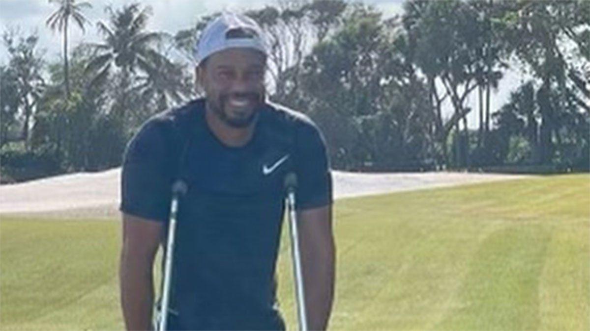 La foto que muestra la increíble recuperación de Tiger Woods