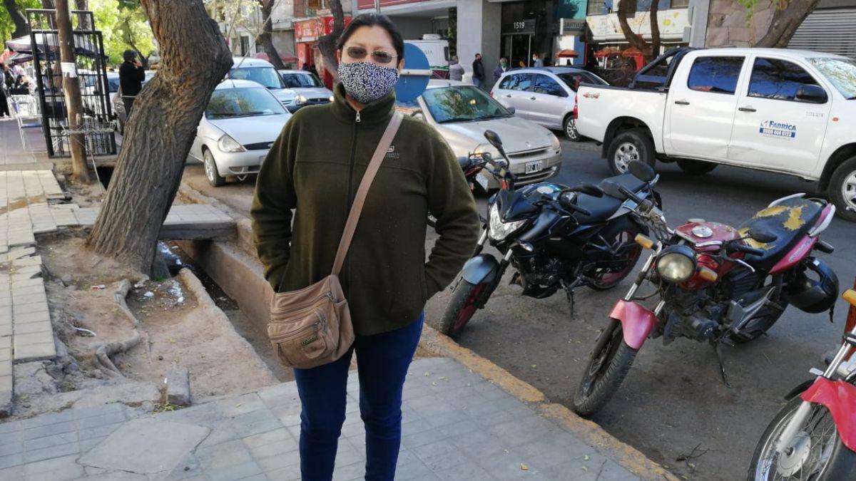 La mujer hizo una denuncia contra la clínica Santa María.