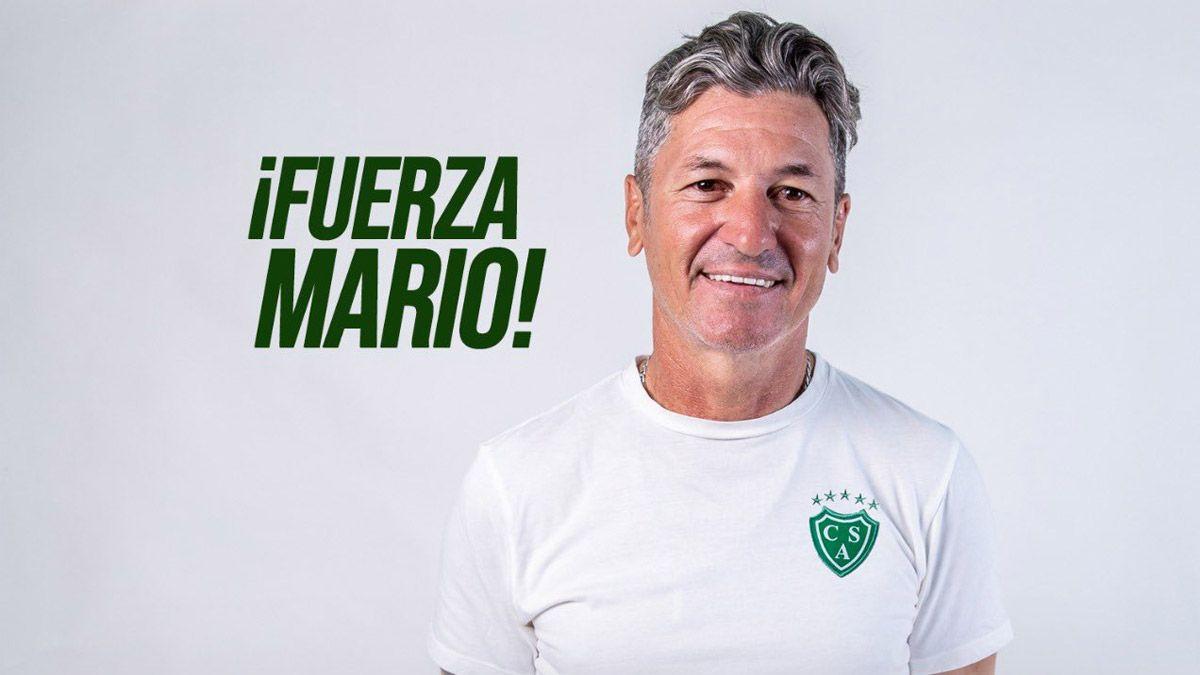 Mario Sciacqua fue internado y hay preocupación en Sarmiento