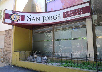 Dos hombres armados asaltaron la clínica San Jorge, en Ciudad