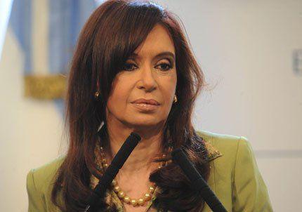 Cristina aseguró que los medios encabezan un operativo desánimo