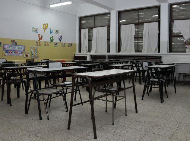 Es alto el acatamiento al paro docente en las escuelas públicas