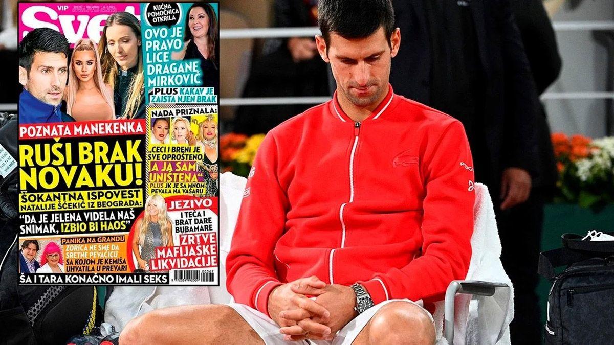 Escandalosa revelación de una modelo serbia sobre Djokovic