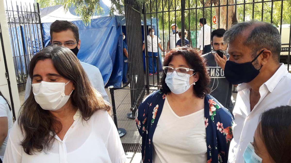 La ministra de Salud Ana María Nadal habló este jueves