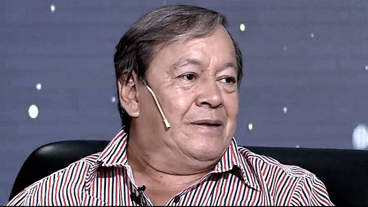 El diputado Héctor Toty Flores internado con Covid.