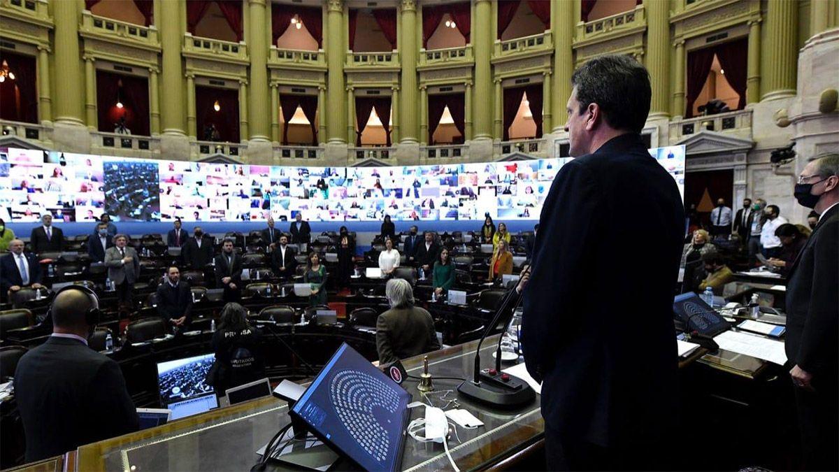 Diputados debaten sobre la Ley de Biocombustibles.