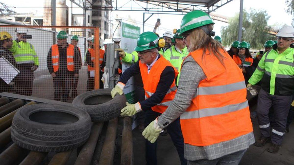 Mendoza recicló mas de 2.000 toneladas deneumáticos