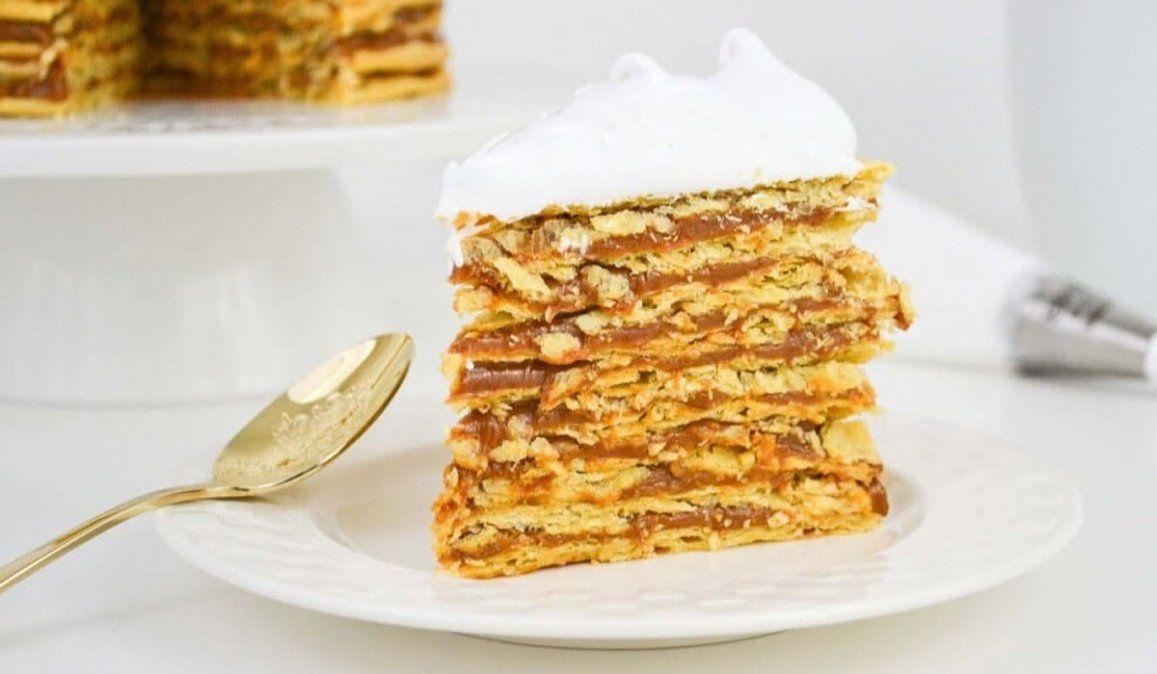 Receta: cómo se hace la torta Rogel de Doña Petrona