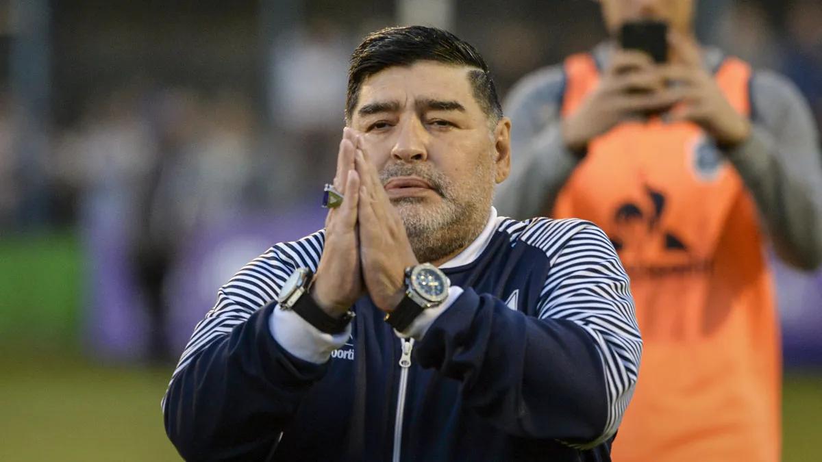 Maradona hoy: Esta es la primera vez o una de las pocas veces que se le dice que no a Diego