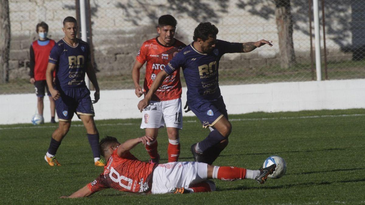 Huracán perdió 1 a 0 en Viedma ante Sol de Mayo.
