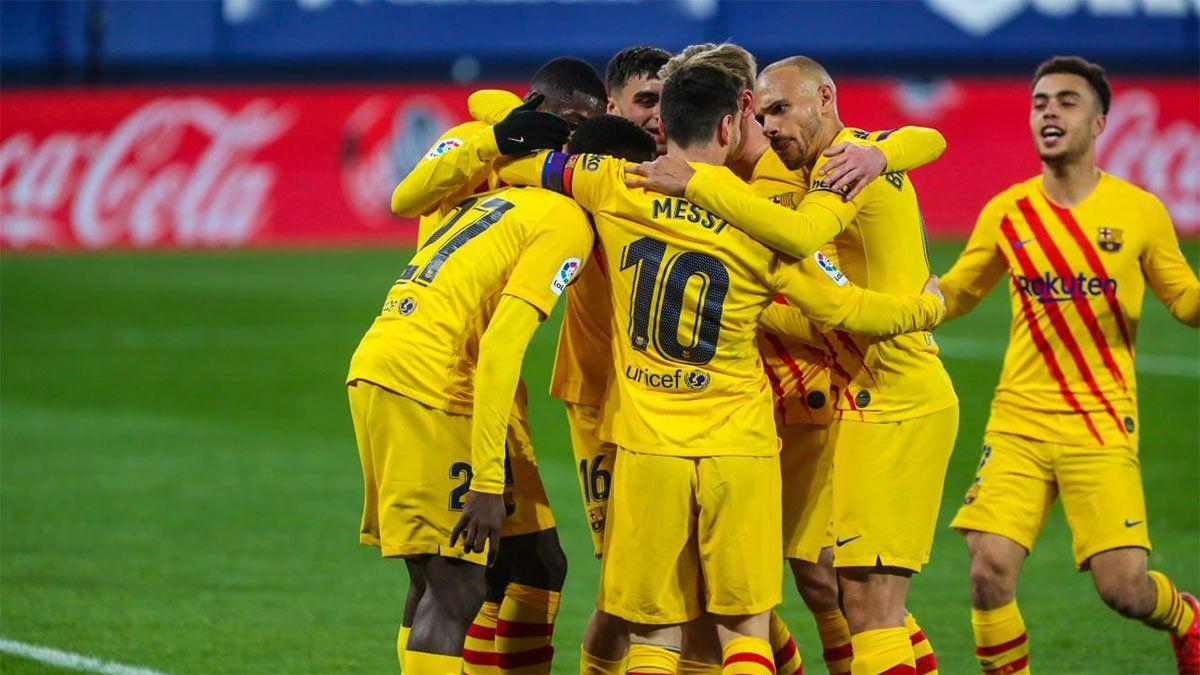 Barcelona vs. Huesca: hora, TV y probables formaciones