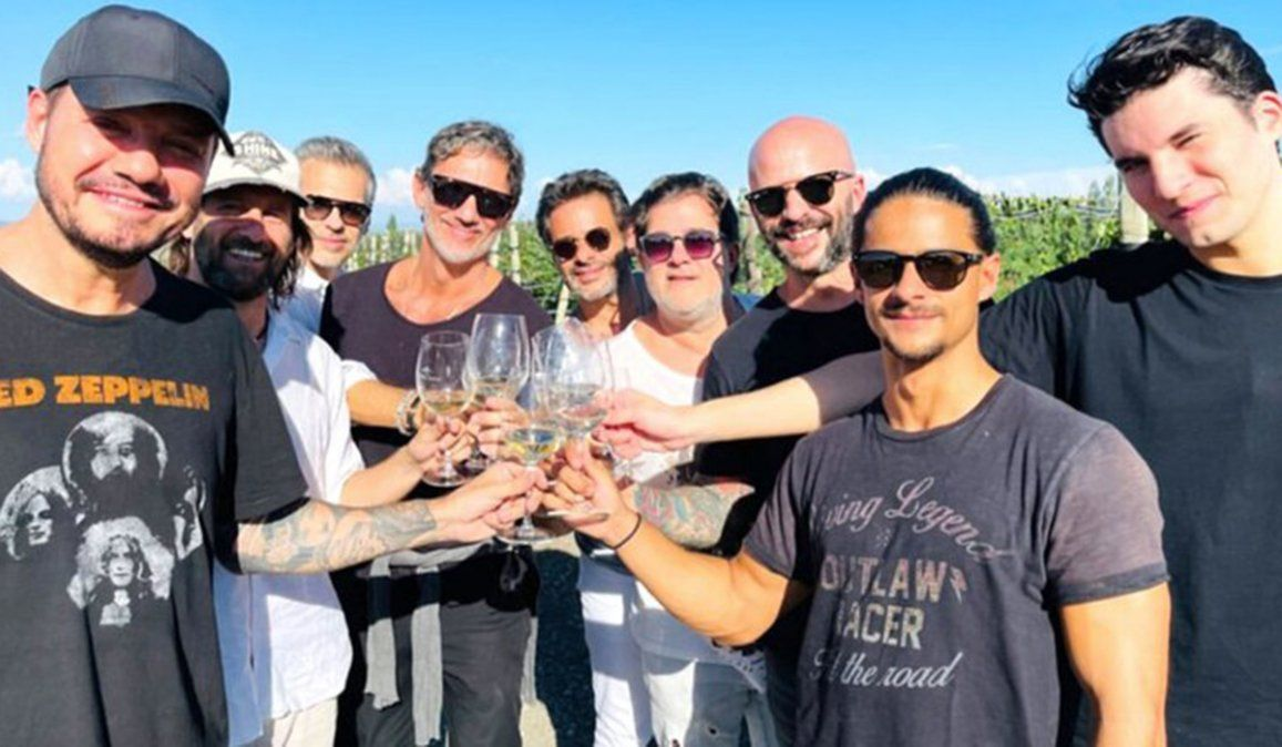 Marcelo Tinelli recorrió la ruta del vino en Mendoza