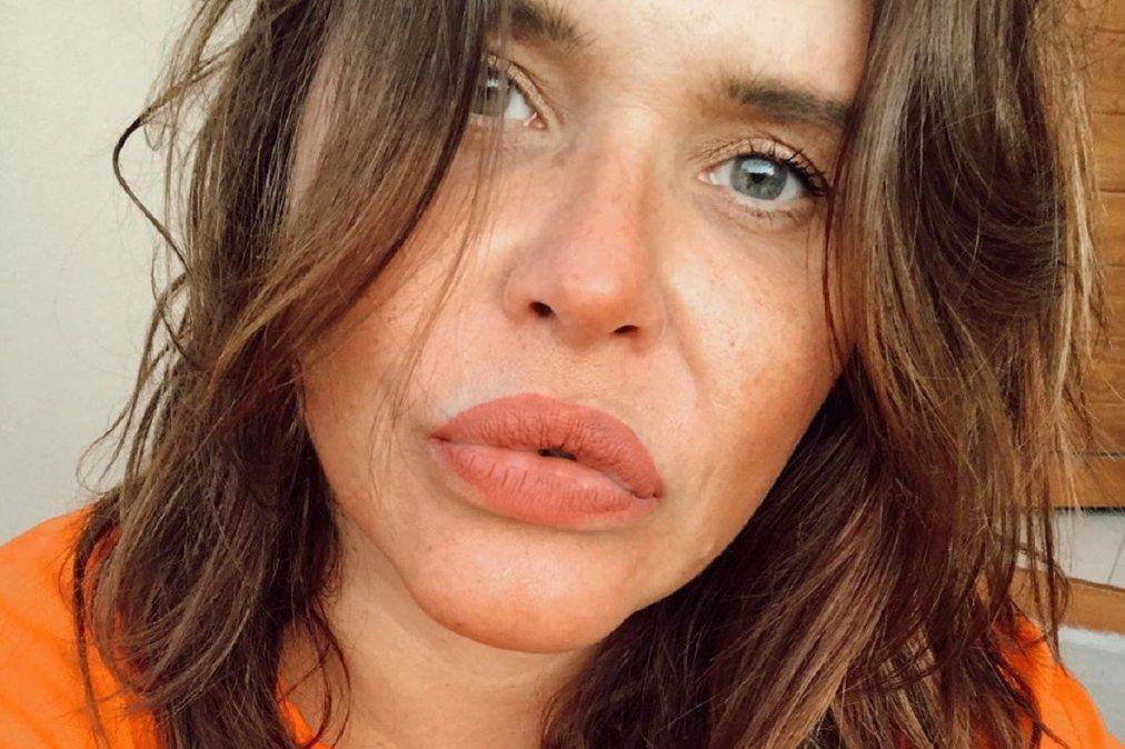 Nazarena Vélez mostró su figura en tanga diminuta y sin corpiño: Atorranta