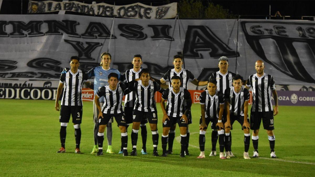 Este es el equipo de Gimnasia que enfrentó a Tigre.
