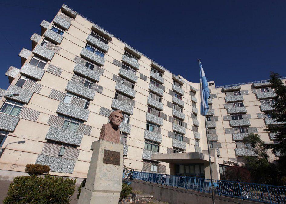 El hombre con coronavirus murió en el hospital Schestakow de San Rafael.
