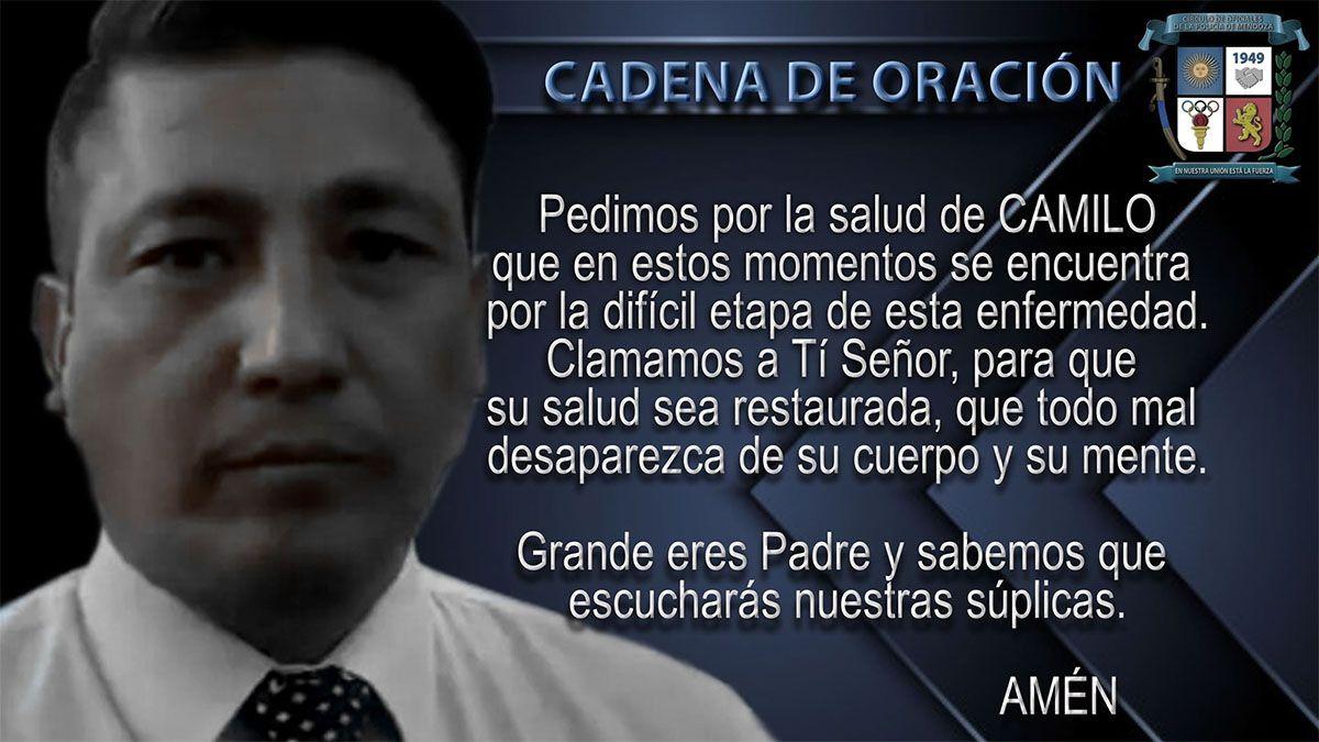 Esta oración circula por las redes para la recuperación de Camilo Uvilla