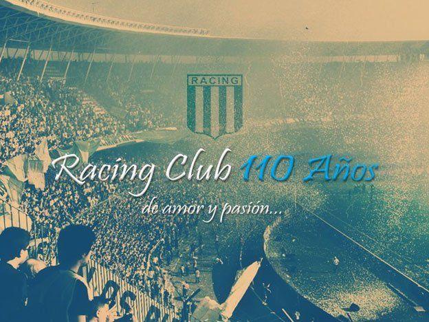 Racing festeja sus 110 años