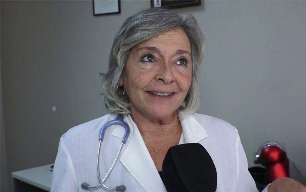 Elena Obieta pidió que se hagan más testeos.