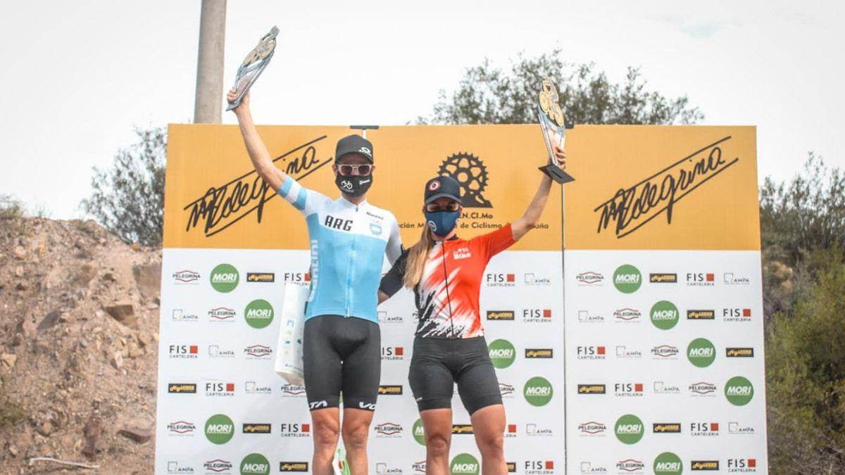 Catriel Soto y Laura Bugarín fueron los mejores en Mendoza