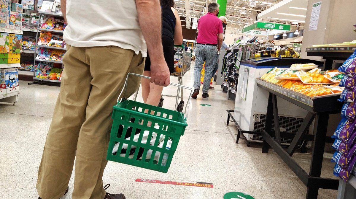 La caida del consumo en enero fue del 5