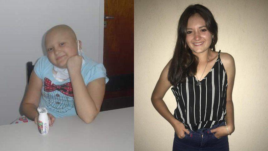 Furor por el #10yearschallengue de una joven que le ganó al cáncer