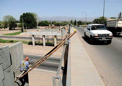 Advirtieron sobre cortes de tránsito en Acceso Sur y calle Paso, Luján
