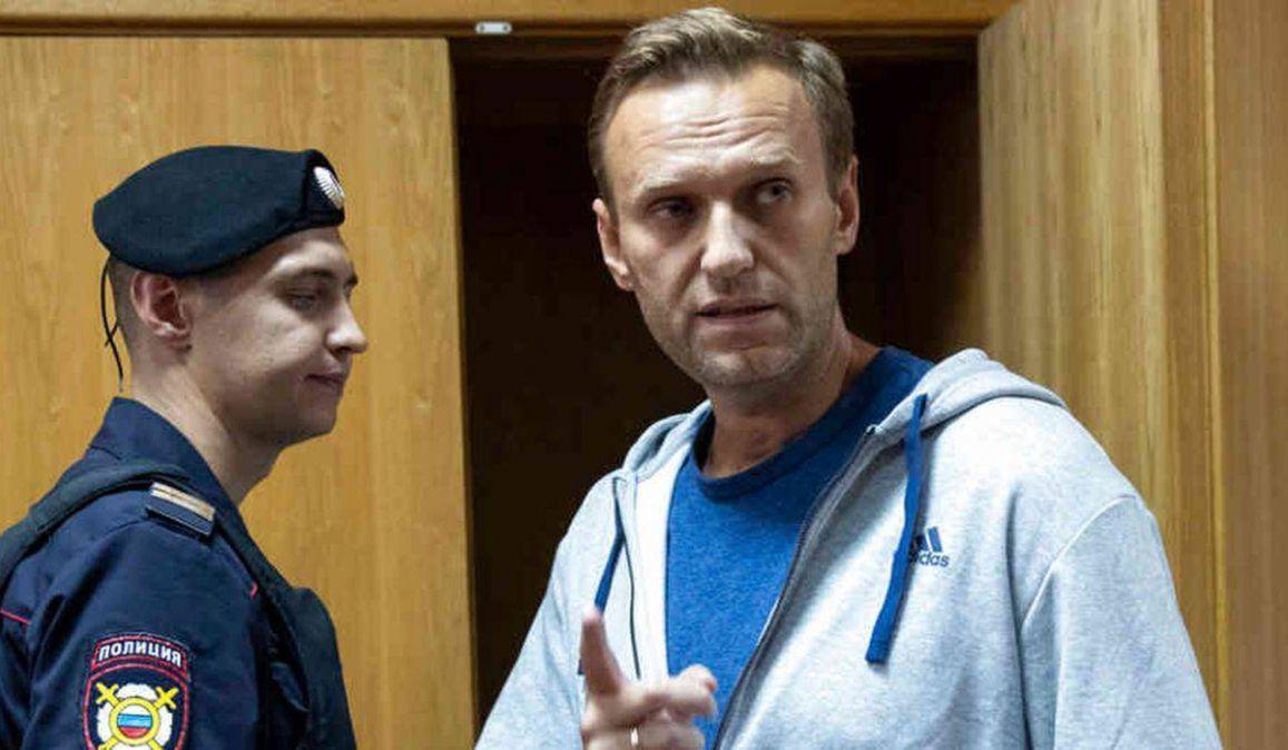 El lider opositor ruso Alexey Navalny